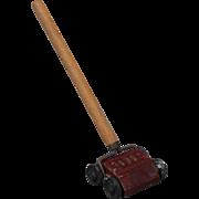Carpet Sweeper of Cast Metal