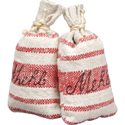 Dollhouse Flour Sacks