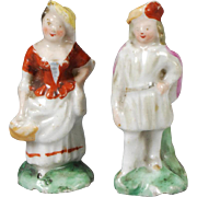 Pair of China Figures for Dollhouse