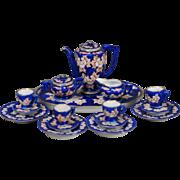 Porcelain Dollhouse Coffee Service
