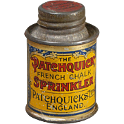 Small French Chalk Tin for Dollhouse