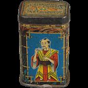 Miniature Tea Tin for Dollhouse