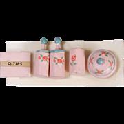Dollhouse Toilette Set