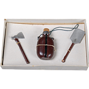 Boxed Set of of Dollhouse Scout Accessories