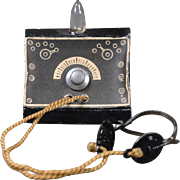 Dollhouse Radio Receiver Circa 1920s
