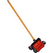 Dollhouse Cast Metal Carpet Sweeper