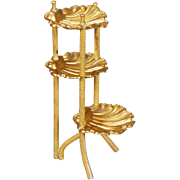 Three-tiered Ormolu Stand from Erhard & Söhne
