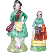 Dollhouse Sized Porcelain Figurines