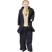 Elegant Dollhouse Gentleman Doll