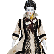 German China Dollhouse Lady