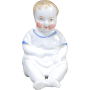 German China Chubby-faced Baby Dollhouse Doll