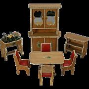 Dollhouse Dining Suite Set