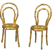Ormolu Side Chairs from Erhard and Söhne