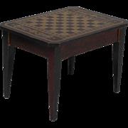 Early Biedermeier Games Table