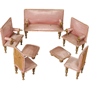 Continental Suite of Parlor Furniture