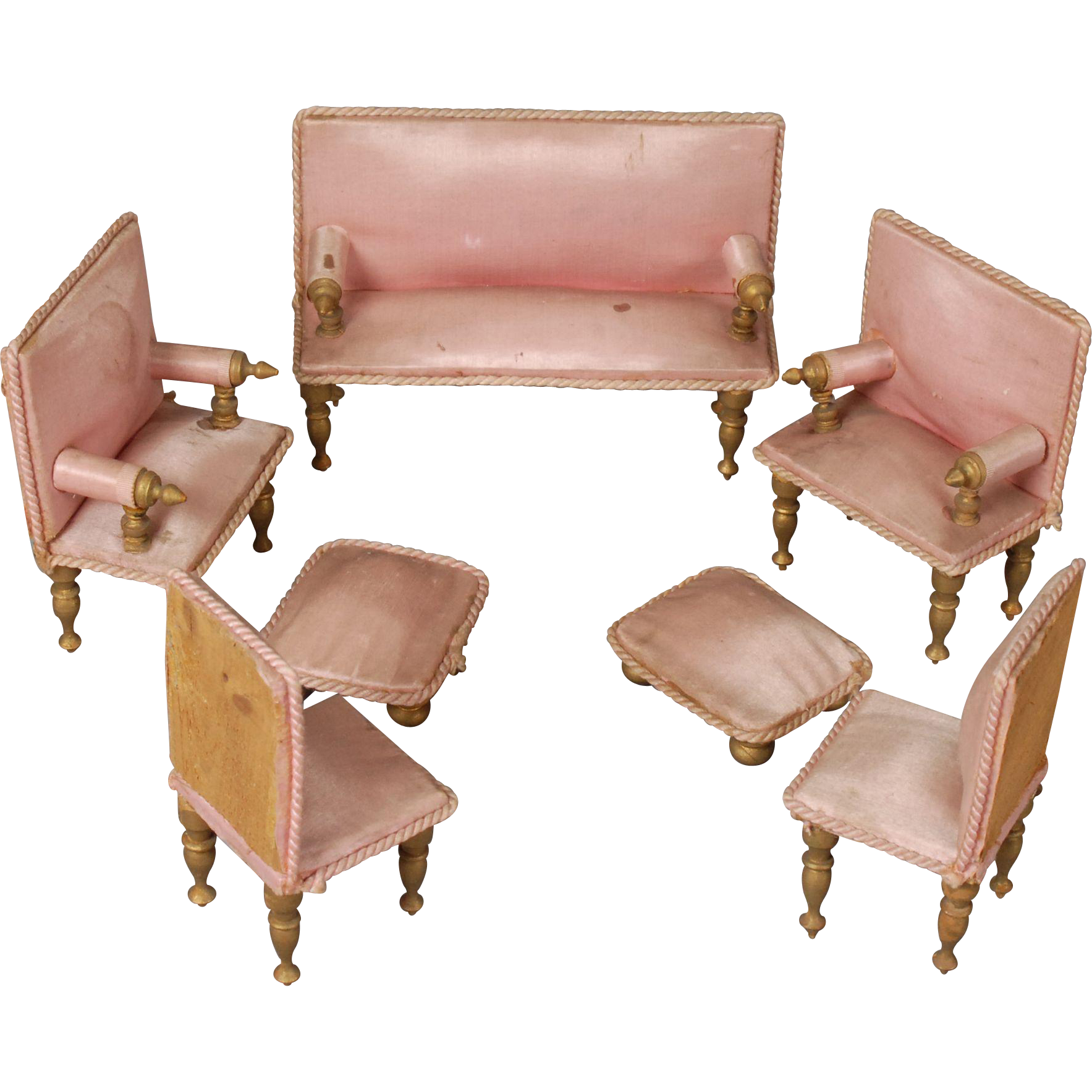 Continental Suite of Parlor Furniture from carmeldollshop