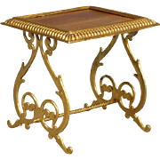 Erhard & Söhne Ormolu Dollhouse Side Table