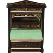 Biedermeier Drop-front Secretaire Dollhouse Desk