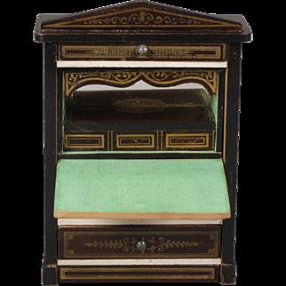 Biedermeier Drop-front Secretaire Dollhouse Desk