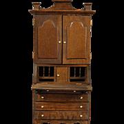 Dollhouse Secretary/Bookcase