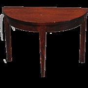 Classic Demilune Table