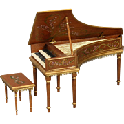 Miniature Harpsichord