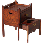 Artist-created, Miniature Privy Cabinet