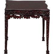 Bespaq 1/12 Scale Table in the Chinese Chippendale Taste
