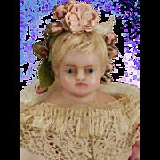 Petite English Wax Child Doll