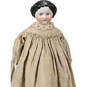 German China Flat-top Doll