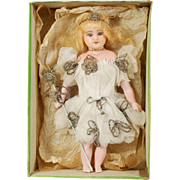 English Poured Wax Child Christmas Angel