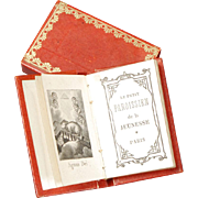 Miniature French Prayer Book