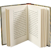 """Miniature Doll Book """"Greek"""""""