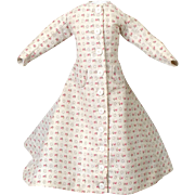A-line Morning Gown for French Fashion Doll