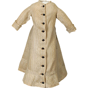 Classic Morning Gown for French Fashion Doll