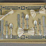 Doll's Table Service (In Original Box)