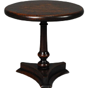 Pedestal Tea Table