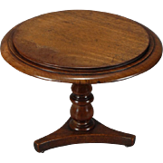 English Walnut Tea or Center Table