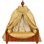 French Napoleon III-era Bed