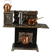 """Superior"" Model Toy Stove by the Kenton Toy Co."
