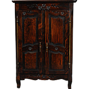 French Armoire in Oak