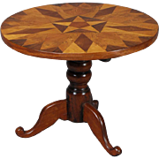 Center Table of Inlaid Mahogany