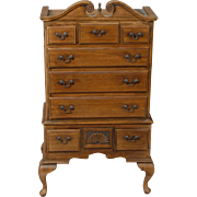 Queen Anne style Highboy in Mahogany