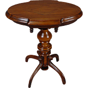 Tilt-top Mahogany Table