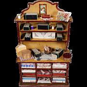 Miniature Mercantile Cabinet