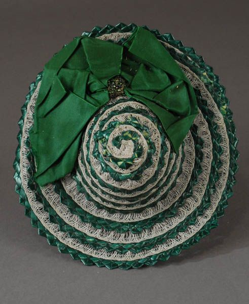 Emerald Green Straw Hat