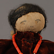 Handcrafted Pueblo Indian Doll