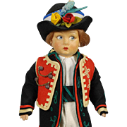 Lenci Lucia Face Boy Doll
