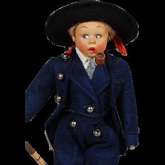 Lenci Mascotte Boy Doll