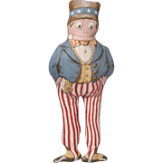 "Arnold Print Works ""Uncle Sam"" Doll"